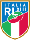 ITALY RUGBY LEAGUE NAME TRAIN-ON SQUAD