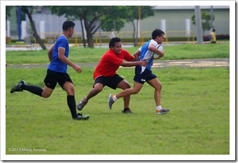 Alumni Warriors, Anscor Swires & Don Bosco Rugby training at Bayshore Ave. Pasay City 270713 courtesy of Melvs Amores 48